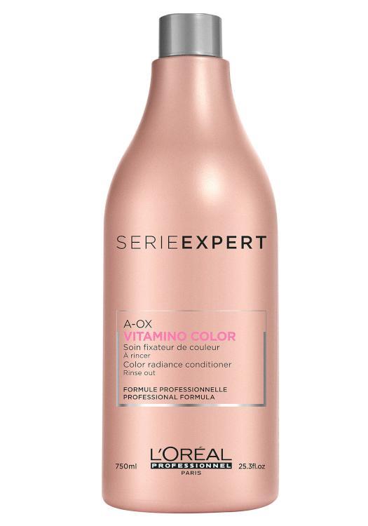 Péče pro ochranu zářivé barvy vlasů Vitamino Color A-OX - 750 ml - Loréal Professionnel + DÁREK ZDARMA