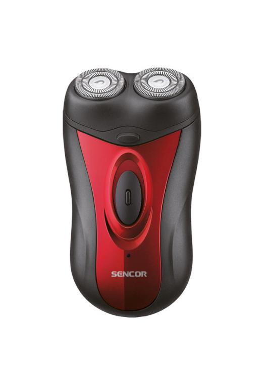 Holicí strojek Sencor SMS 2002RD - 2 W, červený + DÁREK ZDARMA
