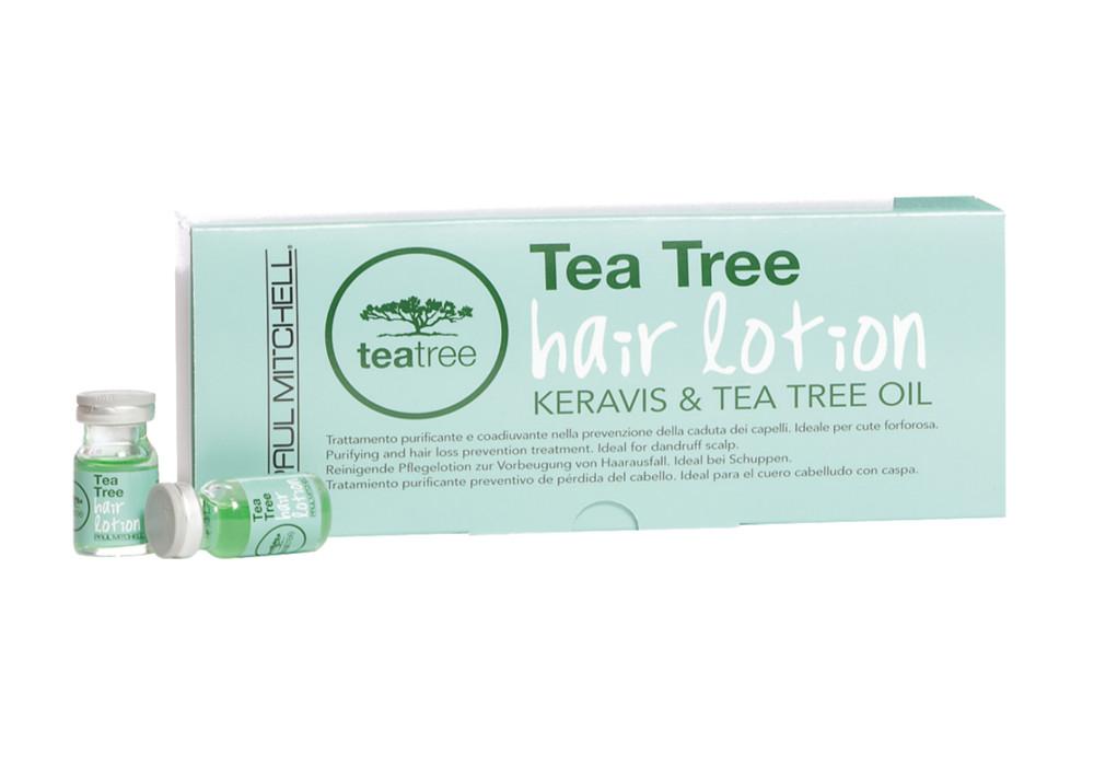 Ampulky proti padání vlasů Tea Tree Paul Mitchell - 12 x 6 ml (203051) + DÁREK ZDARMA