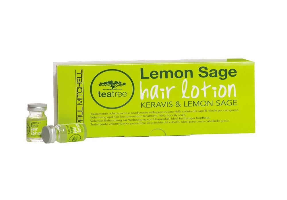 Ampulky proti padání vlasů Lemon Sage Paul Mitchell - 12 x 6 ml (203061) + DÁREK ZDARMA