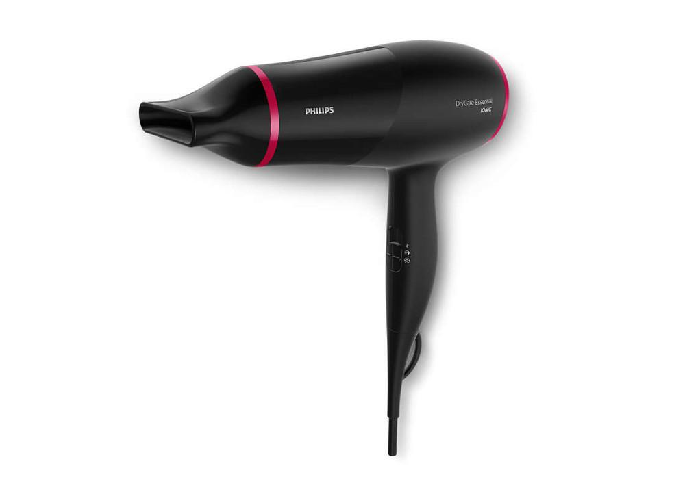 Fén na vlasy s ionizační funkcí Philips BHD029/00 - 1350-1600 W + DÁREK ZDARMA