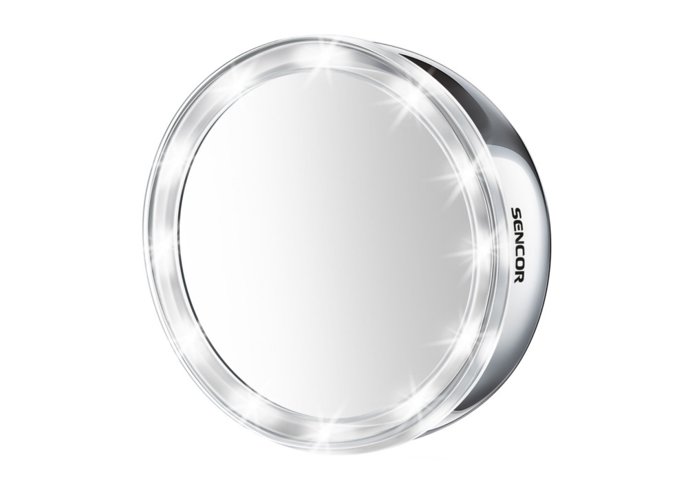 Kosmetické nástěnné zrcátko Sencor SMM 2030SS - 3x zvětšení + DÁREK ZDARMA