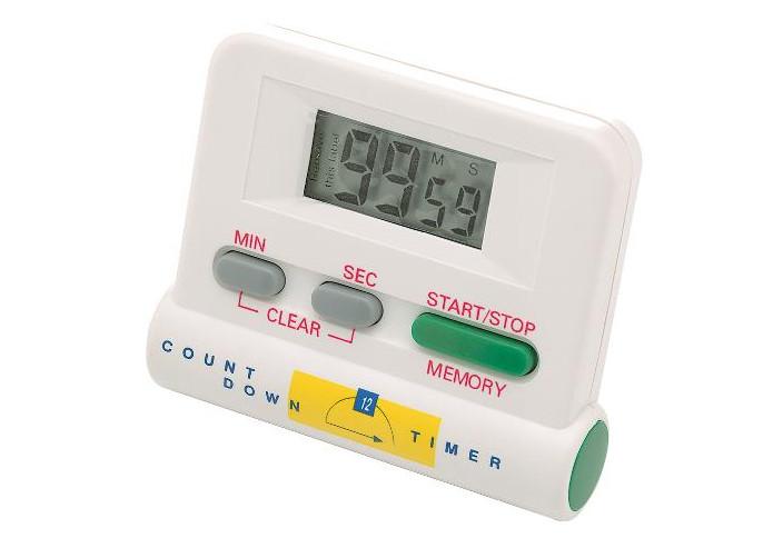 Digitální časovač / minutka Sibel - bílá (0090044)