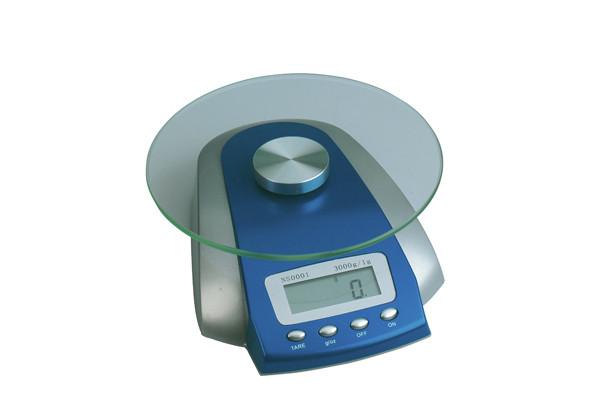 Víceúčelová skleněná váha Sibel - max. 3000 g (0002000) + DÁREK ZDARMA