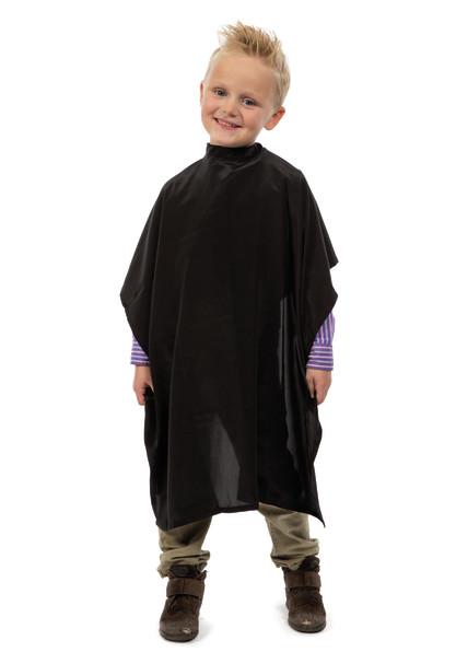 Dětská kadeřnická pláštěnka Flexi Kid Sibel - černá (509140502)