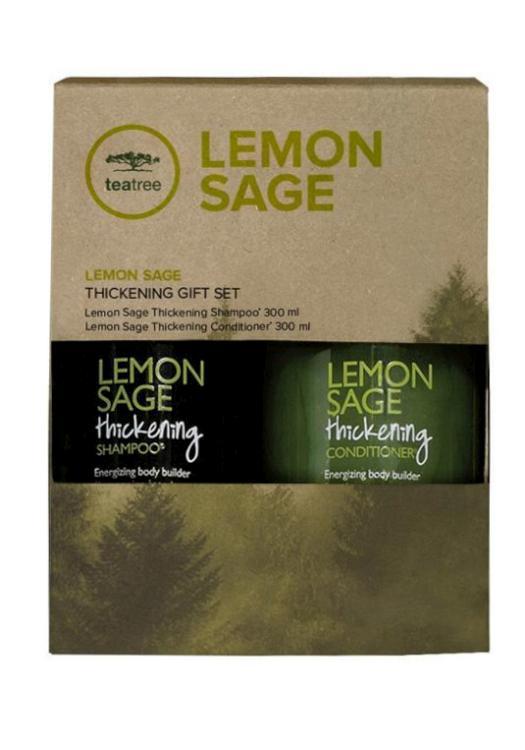 Dárková sada pro objem vlasů Paul Mitchell TeaTree - Lemon Sage (702667) + DÁREK ZDARMA