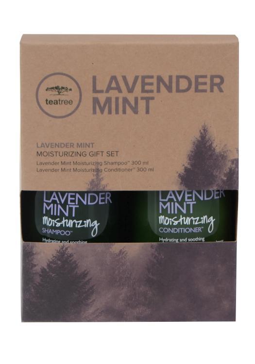 Dárková sada pro suché vlasy Paul Mitchell Tea Tree - Lavander Mint (702668) + DÁREK ZDARMA