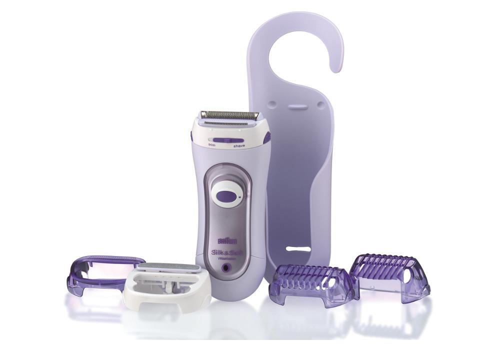 Dámský depilátor Braun Silk-épil, LS 5560 - fialový + DÁREK ZDARMA