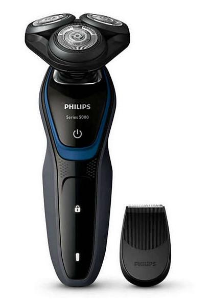 Rotační holicí strojek se zastřihovačem Philips S5100/06 + DÁREK ZDARMA