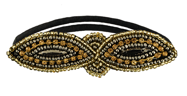Condition Culture Tassel gumička do vlasů - SURRY GOLD (50411417)