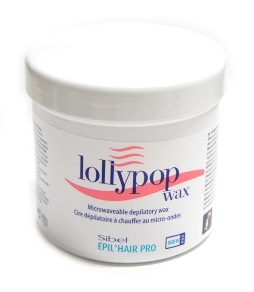 Depilační vosk do mikrovlnné trouby Sibel Lollypop - 400 ml (7410461) + DÁREK ZDARMA