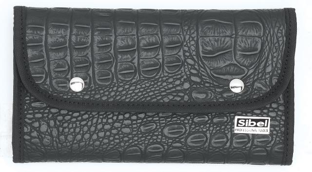 Kadeřnické pouzdro Multi Toll Roll - černá (0151008) - Sibel + DÁREK ZDARMA