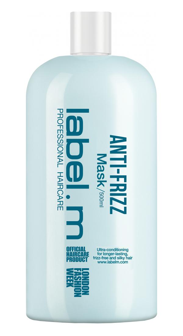 Maska proti krepatění vlasů Label.m Anti-Frizz - 500 ml (600736) + DÁREK ZDARMA