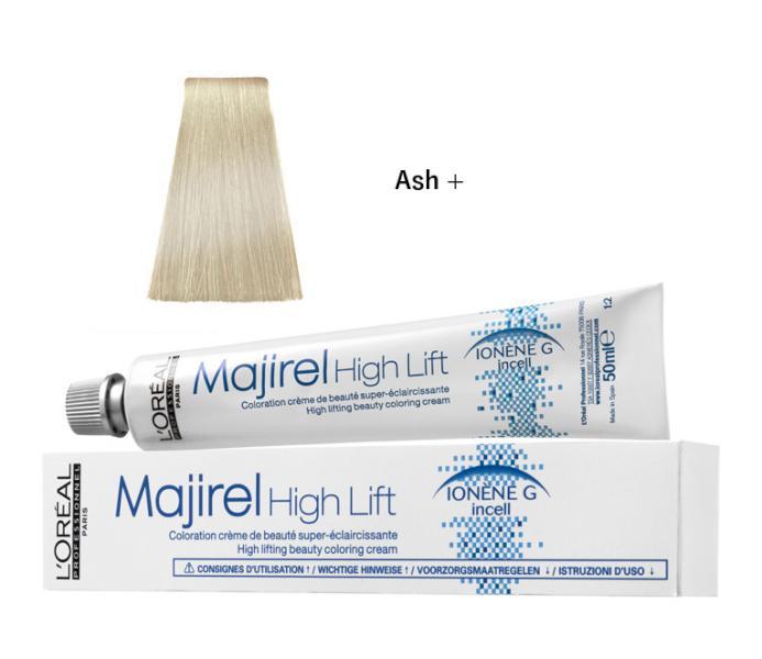 Majirel High Lift zesvětlující barva na vlasy 50 ml - Ash + - Loréal Professionnel + DÁREK ZDARMA