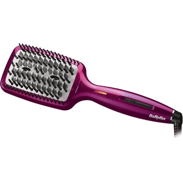 Profesionální žehlící kartáč na vlasy BaByliss Liss Brush 3D (HSB100E) + DÁREK ZDARMA