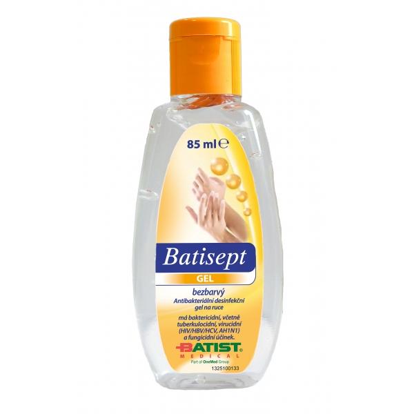 Antibakteriální gel na ruce Batisept parfémovaný - 85 ml (1325100133) - Batist