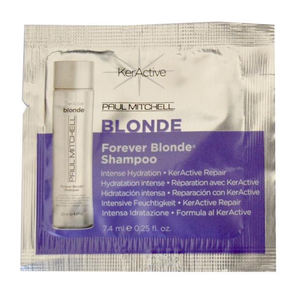 Bezsulfátový šampon Paul Mitchell Forever Blonde - 7,4 ml (110019)