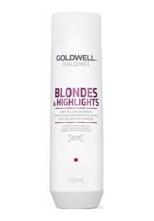 Šampon pro blond a melírované vlasy Goldwell DS - 250 ml (202911)