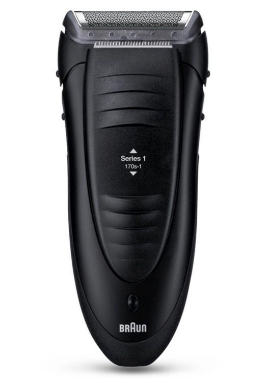 Planžetový holicí strojek na vousy Braun Series 1 170s (170 s-1) + DÁREK ZDARMA