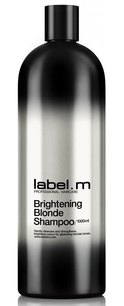 Šampon pro rozjasnění blond vlasů Label.m Brightening Blonde - 1000 ml (600494) + DÁREK ZDARMA