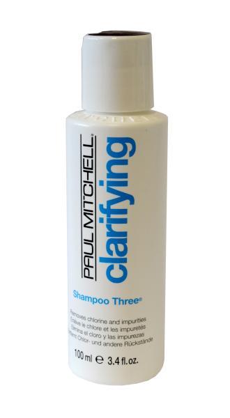 Hloubkově čistící šampon Paul Mitchell Shampoo Three - 100 ml (150131)