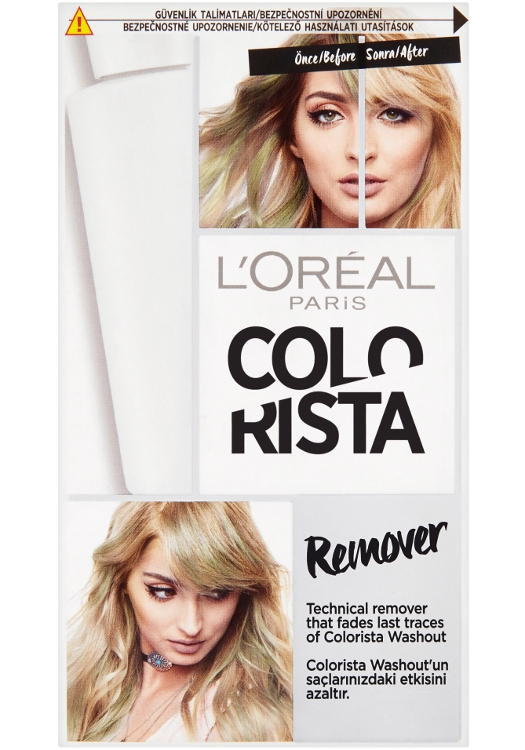 Odstraňovač barev Washout Loréal Colorista Remover