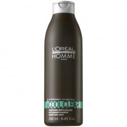 Šampon proti lupům Loréal Homme Cool Clear - 250 ml