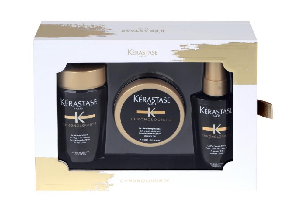 Pánská dárková sada pro revitalizaci vlasů Kérastase Chronologiste + DÁREK ZDARMA