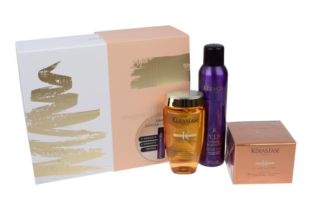 Dárková sada pro všechny typy vlasů Kérastase Elixir Ultime + DÁREK ZDARMA