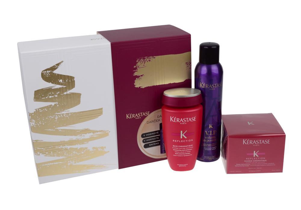Dárková sada pro ochranu barvy vlasů Kérastase Chromatique + DÁREK ZDARMA