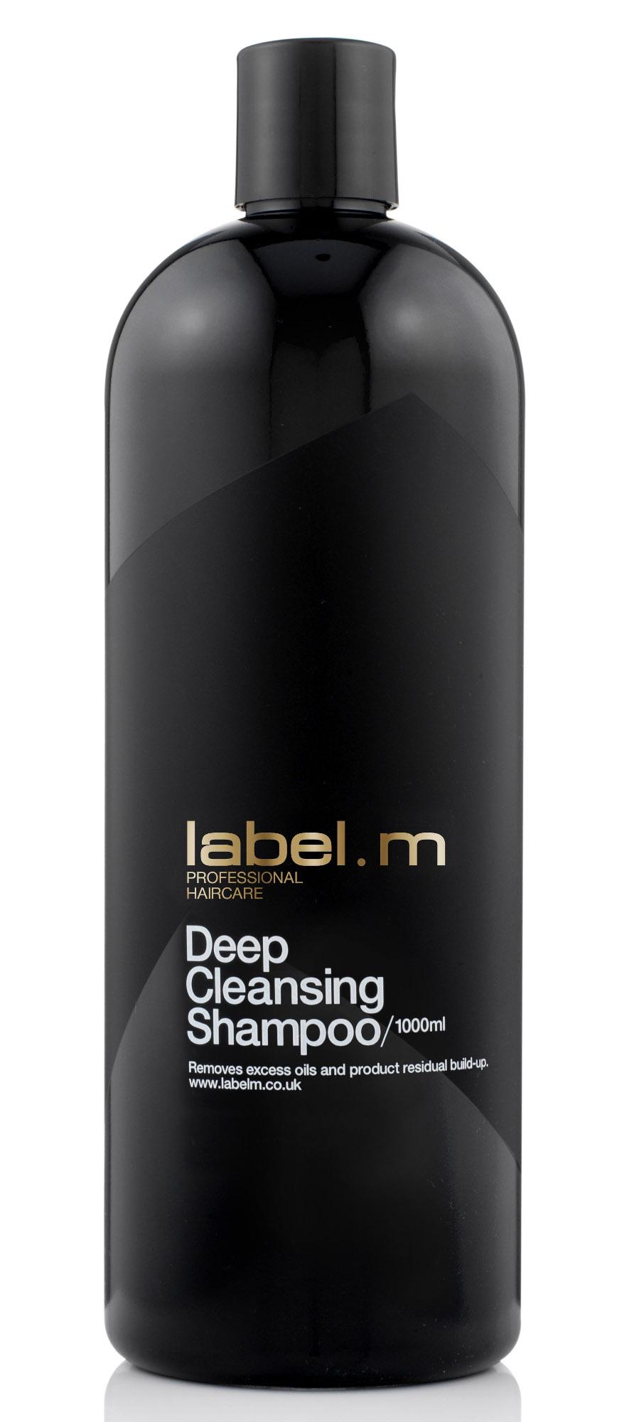 Hloubkově čisticí šampon Label.m Deep Cleansing - 1000 ml (600144) + DÁREK ZDARMA