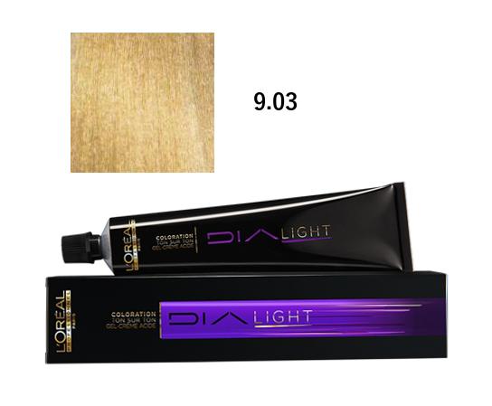 Loréal Dialight Přeliv na vlasy 50ml - odstín 9.03 zlatá
