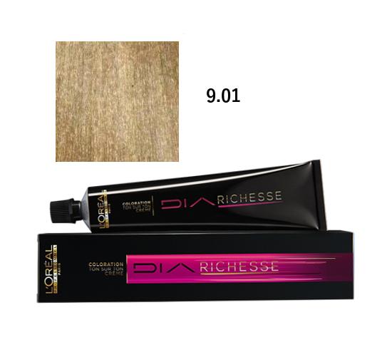 Loréal Diarichesse Přeliv na vlasy 50ml - odstín 9.01 ledová blond