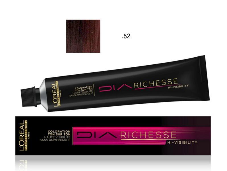Přeliv Loréal Diarichesse Hi-Visibility 50 ml - odstín .52 mahagonová