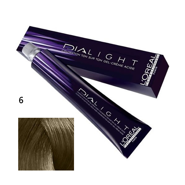 Loréal Dialight Přeliv na vlasy 50ml - odstín 6 blond