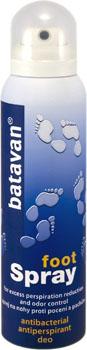 Antibakteriální deo sprej na nohy Batavan - 150 ml