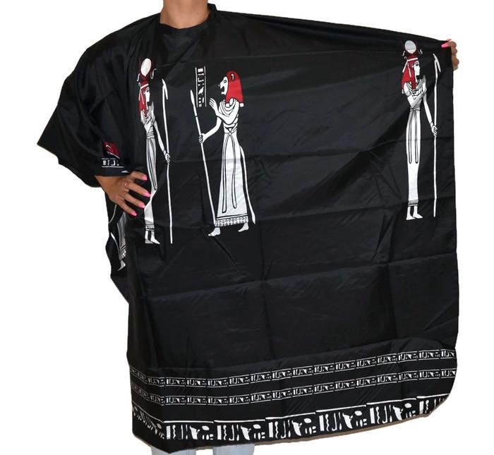 Pláštěnka na stříhání Fox Collection Egypt Line - černá (1509416, 7512020)