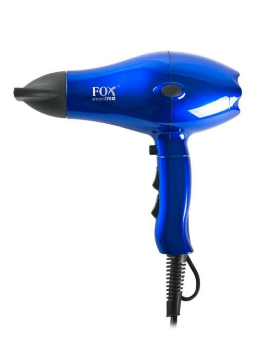 Profesionální fén Fox Smart Front ionic - 2100 W, metalický modrý (2741068) + DÁREK ZDARMA