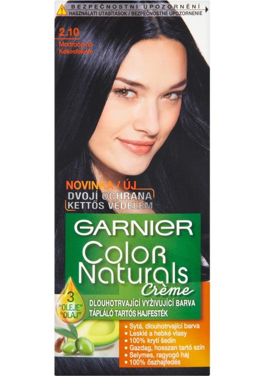 Permanentní barva Garnier Color Naturals 2.10 modročerná