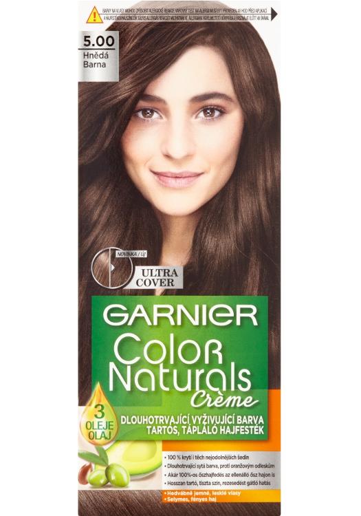 Permanentní barva Garnier Color Naturals 5.00 hnědá