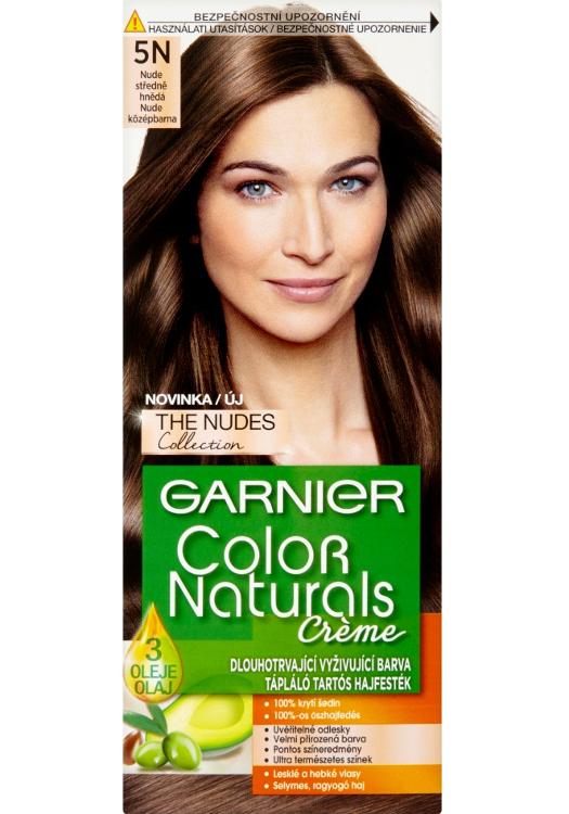 Permanentní barva Garnier Color Naturals 5N středně hnědá