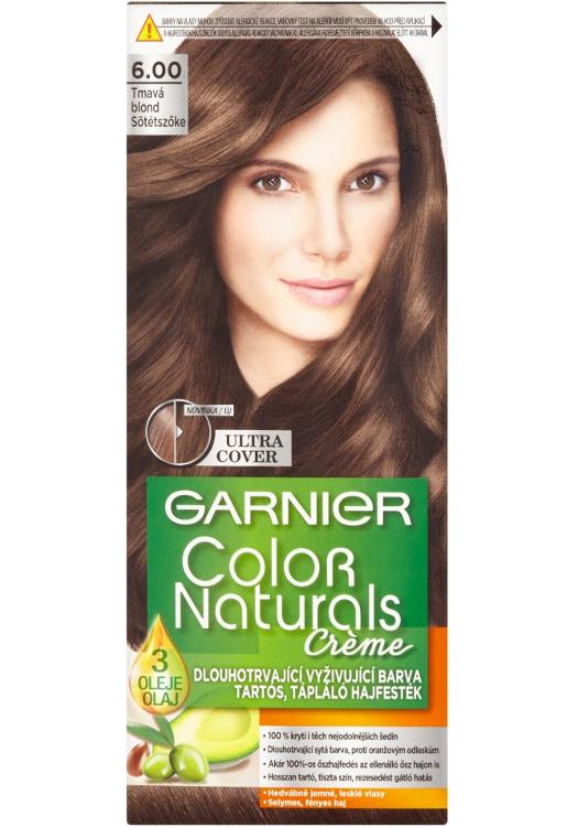 Permanentní barva Garnier Color Naturals 6.00 tmavá blond