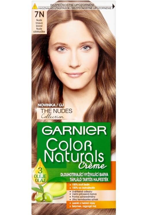 Permanentní barva Garnier Color Naturals 7N tmavá blond