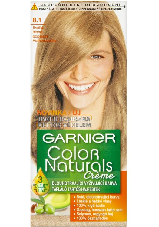 Permanentní barva Garnier Color Naturals 8.1 světlá blond popelavá