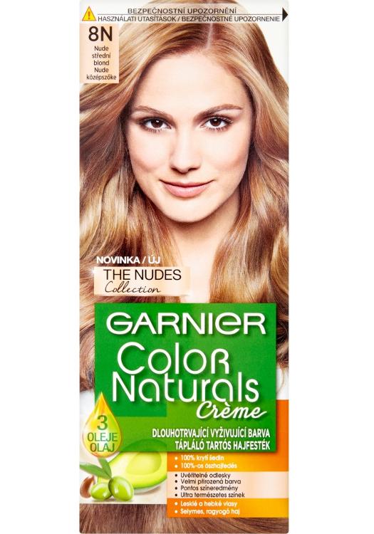 Permanentní barva Garnier Color Naturals 8N střední blond
