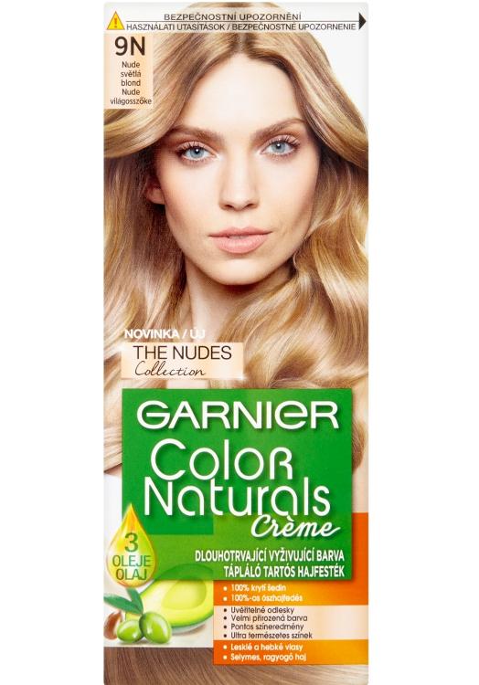 Permanentní barva Garnier Color Naturals 9N světlá blond