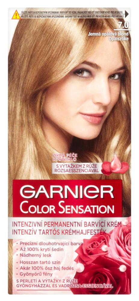 Permanentní barva Garnier Color Sensation 7.0 jemná opálová blond