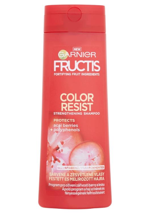Šampon pro barvené vlasy Garnier Fructis Color Resist - 400 ml