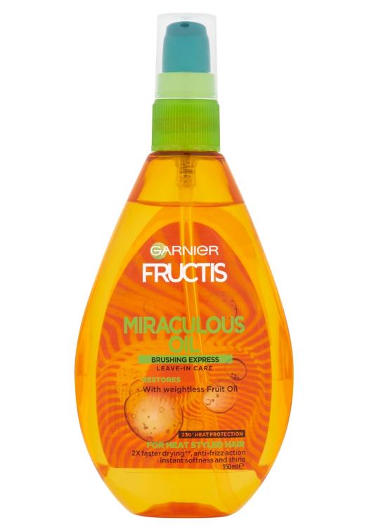 Olej pro poškozené vlasy Garnier Fructis Miraculous Oil - 150 ml
