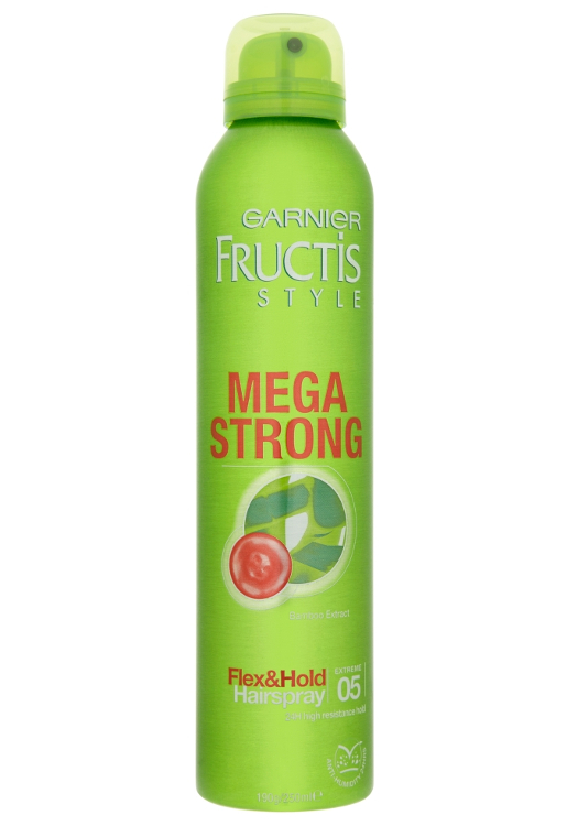 Extra silný lak na vlasy Garnier Fructis Style Mega Strong - 250 ml